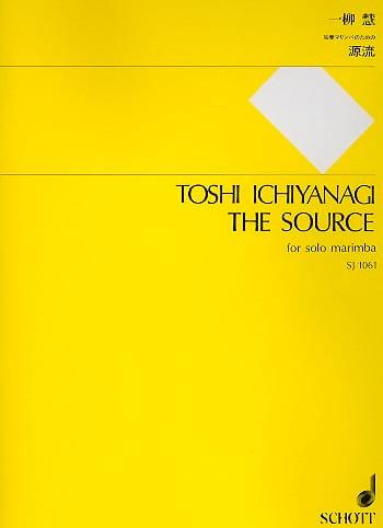 The Source - Toshi Ichiyanagi - Partition - Marimba - laflutedepan.com