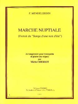 Marche Nuptiale - MENDELSSOHN - Partition - laflutedepan.com