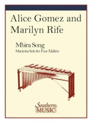 Mbira Song - Amice Gomez & Marilyn Rife - Partition - laflutedepan.com