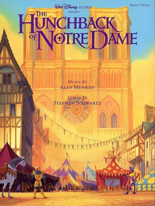 Le Bossu de Notre Dame - DISNEY - Partition - laflutedepan.com
