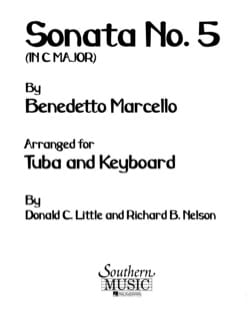 Benedetto Marcello - Sonata No. 5 In C Maj - Partition - di-arezzo.com