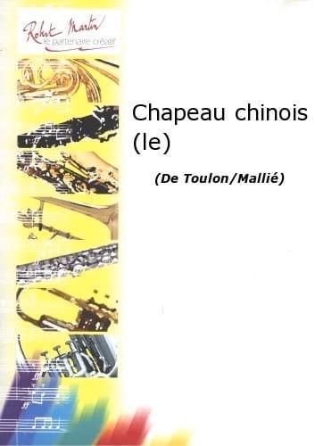 Jacques Toulon - El sombrero chino - 5 posiciones - Partition - di-arezzo.es