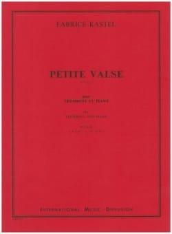 Petite Valse - Fabrice Kastel - Partition - laflutedepan.com