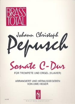 Sonate C-Dur - Johann Christoph Pepusch - Partition - laflutedepan.com