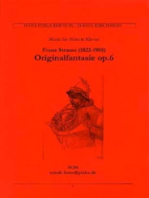 Franz Strauss - Original Fantasie Opus 6 - Partition - di-arezzo.co.uk