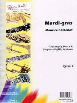 Maurice Faillenot - Mardi Gras - Partition - di-arezzo.com