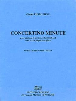 Concertino Minute - Claude Pichaureau - Partition - laflutedepan.com