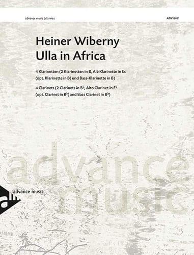 Ulla In Africa - Heiner Wiberny - Partition - laflutedepan.com