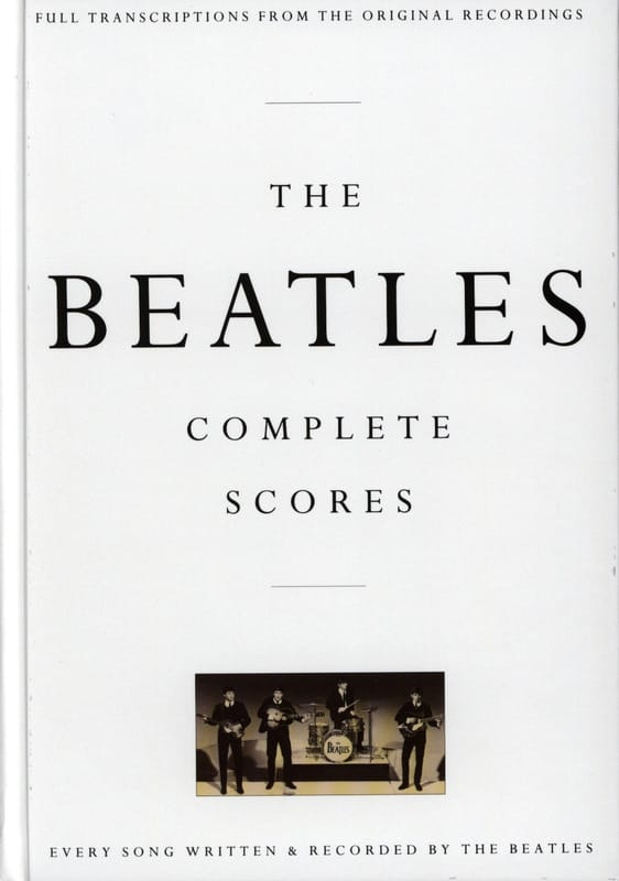 BEATLES - The Beatles Complete Score - Box Edition - Partition - di-arezzo.co.uk