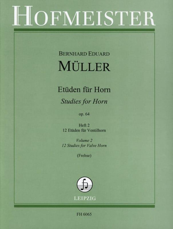 Etüden Für Horn Opus 64 Volume 2 - laflutedepan.com