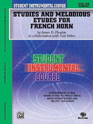 James Ployhar - Studies - melodious and studies for french horn volume 1 - Partition - di-arezzo.com