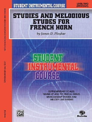 James Ployhar - Studies - melodious etudes for french horn volume 2 - Partition - di-arezzo.co.uk