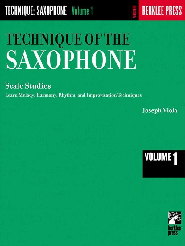 The Technique Of The Saxophone Volume 1 - laflutedepan.com