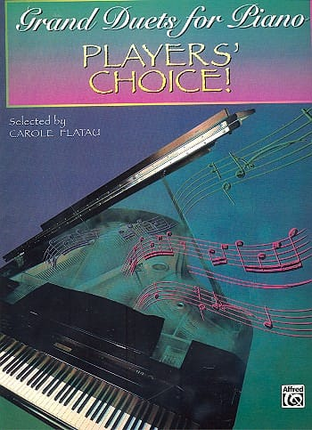- Grand duets for piano - Players' choice! - Partition - di-arezzo.co.uk