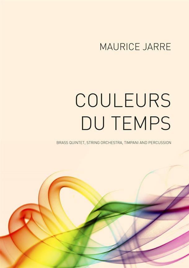 Couleurs du Temps - Maurice Jarre - Partition - laflutedepan.com