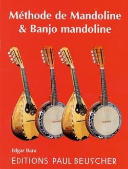 Méthode de Mandoline & Banjo Mandoline - Edgar Bara - laflutedepan.com