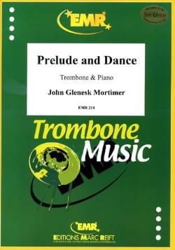 John Glenesk Mortimer - Prelude And Dance - Partition - di-arezzo.co.uk