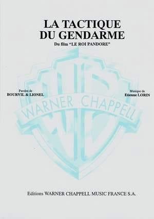 La Tactique du Gendarme - Etienne Lorin - Partition - laflutedepan.com