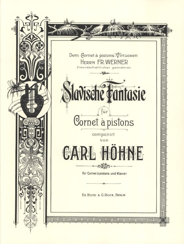 Carl Höhne - Slavische Fantasy - Partition - di-arezzo.co.uk
