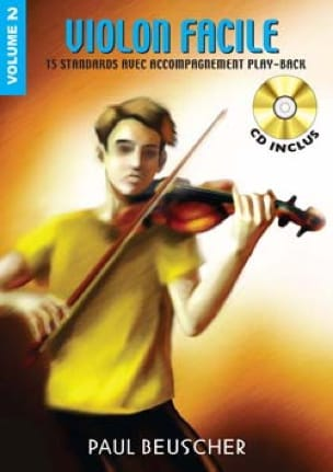 Violon Facile Volume 2 - Partition - Violon - laflutedepan.com