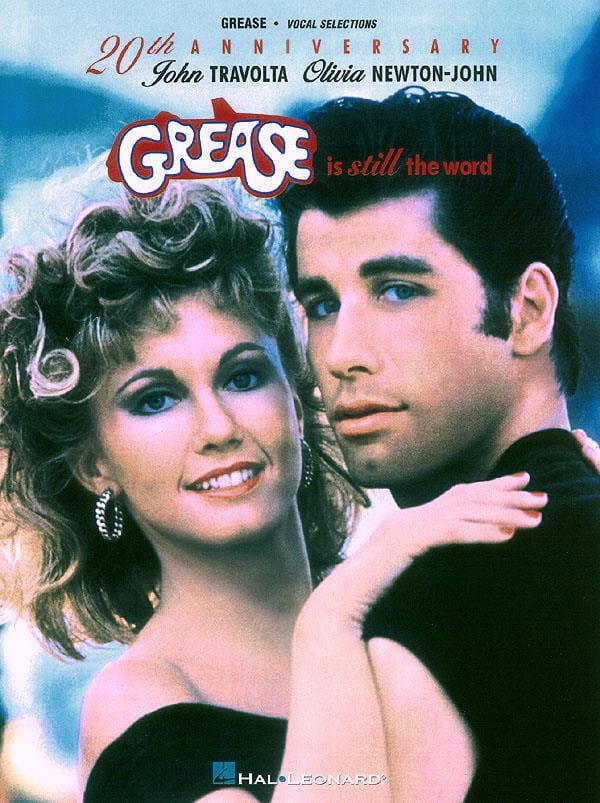Grease Is Still The Word - Partition - laflutedepan.com