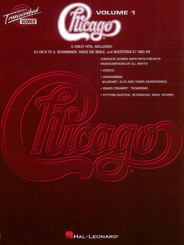 Chicago Volume 1 - 9 Songs - Chicago - Partition - laflutedepan.com