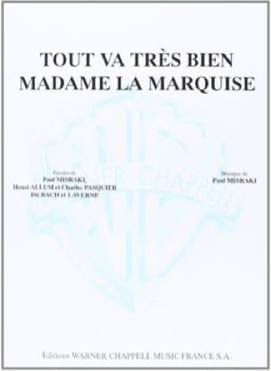 Tout Va Très Bien Madame la Marquise - Paul Misraki - laflutedepan.com