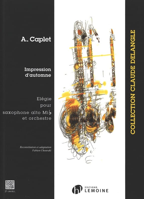 André Caplet - Fall Impressions - Partition - di-arezzo.co.uk