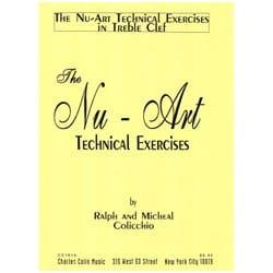 The Nu-Art Technical Exercises - Treble Clef - laflutedepan.com