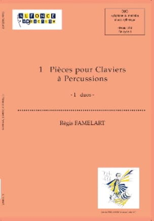 13 Pièces - Régis Famelart - Partition - laflutedepan.com