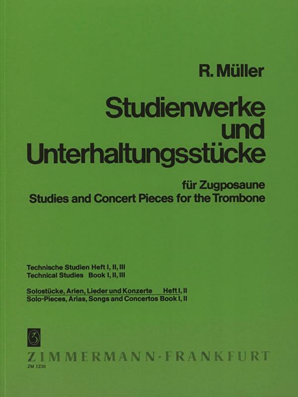 Robert Müller - Solistücke、Arien、Lieder - Konzerte Volume 1 - Partition - di-arezzo.jp