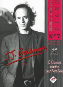 Jean-Jacques Goldman - Special Piano Collection No. 7 - Partition - di-arezzo.co.uk