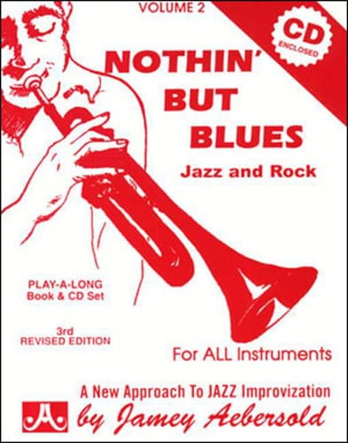 METHODE AEBERSOLD - Volume 2 - Nothin 'But Blues - Partition - di-arezzo.co.uk
