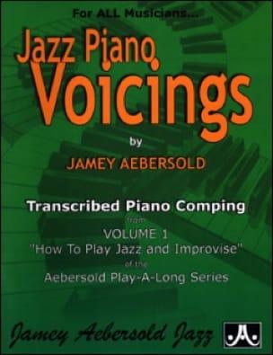 Jazz Piano Voicing Volume 1 - METHODE AEBERSOLD - laflutedepan.com