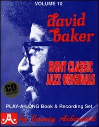 METHODE AEBERSOLD - Volume 10 - David Baker - Partition - di-arezzo.co.uk