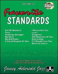 Volume 22 avec 2 CDs - Favorite Standards - laflutedepan.com