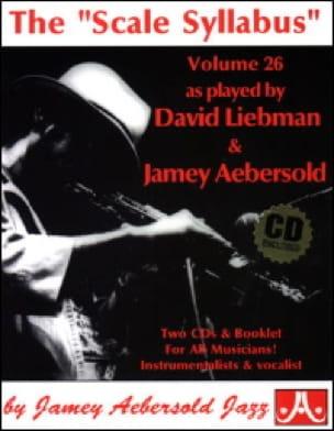 Volume 26 - The Scale Syllabus - METHODE AEBERSOLD - laflutedepan.com