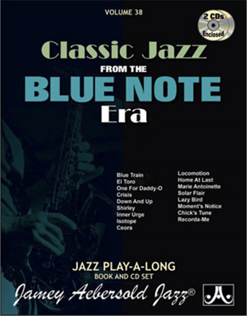 METHODE AEBERSOLD - Volume 38 with 2 CDs - Blue Note Classic Song - Partition - di-arezzo.co.uk