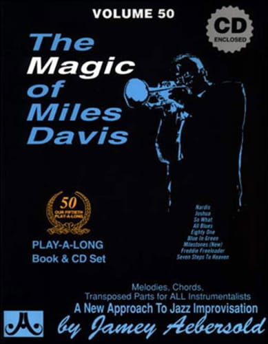 METHODE AEBERSOLD - Volume 50 - Magic Of Miles Davis - Partition - di-arezzo.co.uk