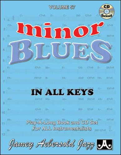 Volume 57 - Minor Blues - METHODE AEBERSOLD - laflutedepan.com