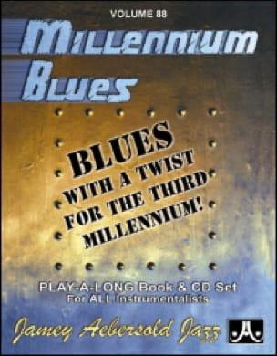 Volume 88 - Millenium Blues - METHODE AEBERSOLD - laflutedepan.com