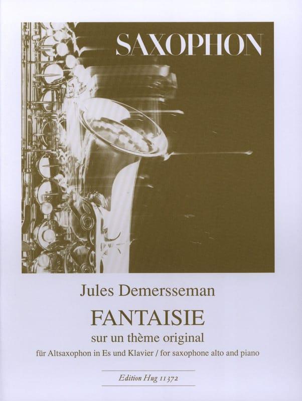 Jules Demersseman - Fantasía sobre un tema original - Partition - di-arezzo.es