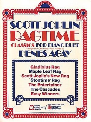 Scott Joplin - Ragtime Classics For Piano Duet - 4 Hands - Partition - di-arezzo.co.uk