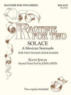 Scott Joplin - Ragtime For Two. 4 Hands - Partition - di-arezzo.co.uk