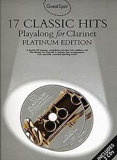 Guest Spot - 17 Classic Hits Playalong For Clarinet - laflutedepan.com