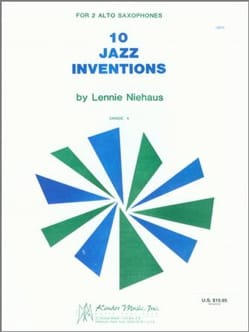 Lennie Niehaus - 10 Jazz Inventions - Partition - di-arezzo.fr