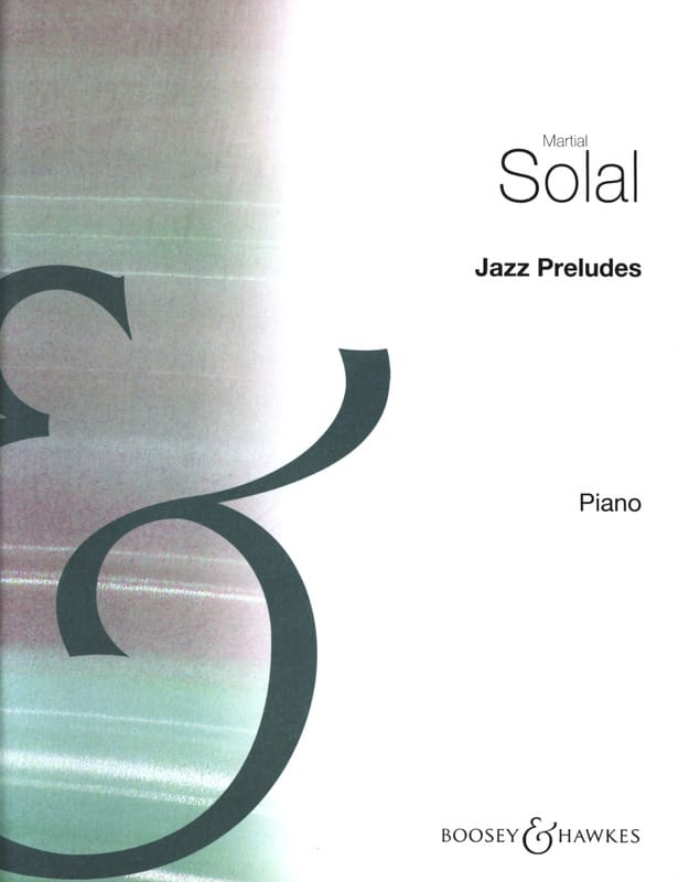 Martial Solal - Jazz preludes - Partition - di-arezzo.co.uk