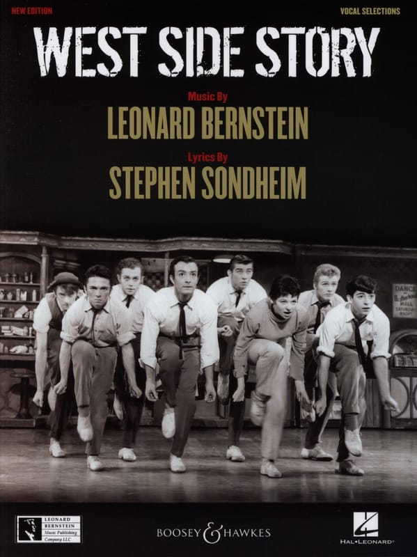 Leonard Bernstein - West Side Story - Partition - di-arezzo.co.uk