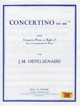 Concertino En Mib - Jean-Marie Depelsenaire - laflutedepan.com