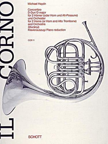 Michael Haydn - Concertino en Ré Majeur - Partition - di-arezzo.fr